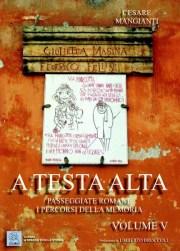 A testa alta - Volume V - copertina (ISBN 9788873540373)
