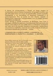Il mistero del lago Cedrino - quarta di copertina (ISBN 887354004X)