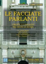 Le facciate parlanti - Volume IV - copertina (ISBN 9788873540441)