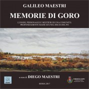 """In copertina dipinto """"Volano (codigoro) – La Valle di Porticino"""" di Diego Maestri"""