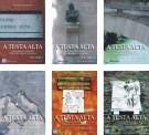Copertine della serie completa di libri su Roma 'A testa alta' (la serie è costituita da 6 volumi)
