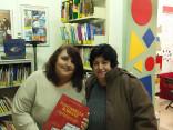 Biblioteca Flaminia - Maria Cristina Martini e un'amica dei tempi universitari